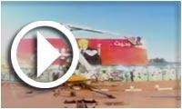 En vidéo-Place Barcelone : Des tagueurs s'expriment 'I Love You Bajbouj'
