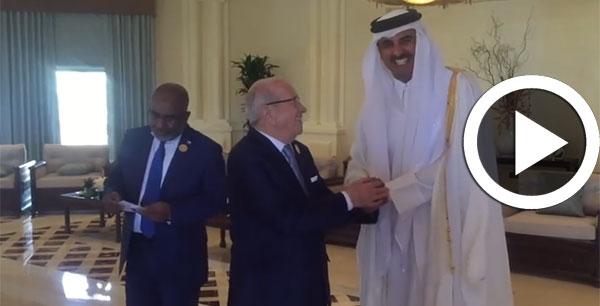 بالفيديو : قائد السّبسي يلتقي قادة الدول العربية بمقر إنعقاد القمة العربية بالأردن