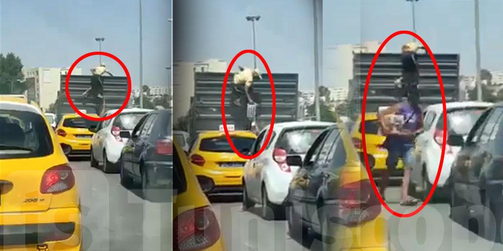 بالفيديو: أغرب سرقة تنجم تراها في تونس
