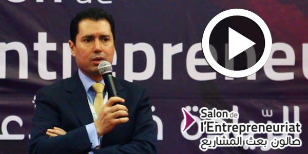 En vidéo- ouverture du Salon de l'entrepreneuriat: Allocution de M. Slim Feriani, PDG de la BFPME