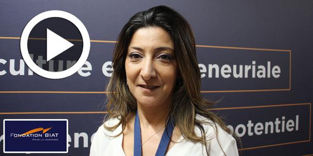 En vidéo- Salon de l'entrepreneuriat: Interview de Mme. Hela Hana Garnaoui, Fondation BIAT