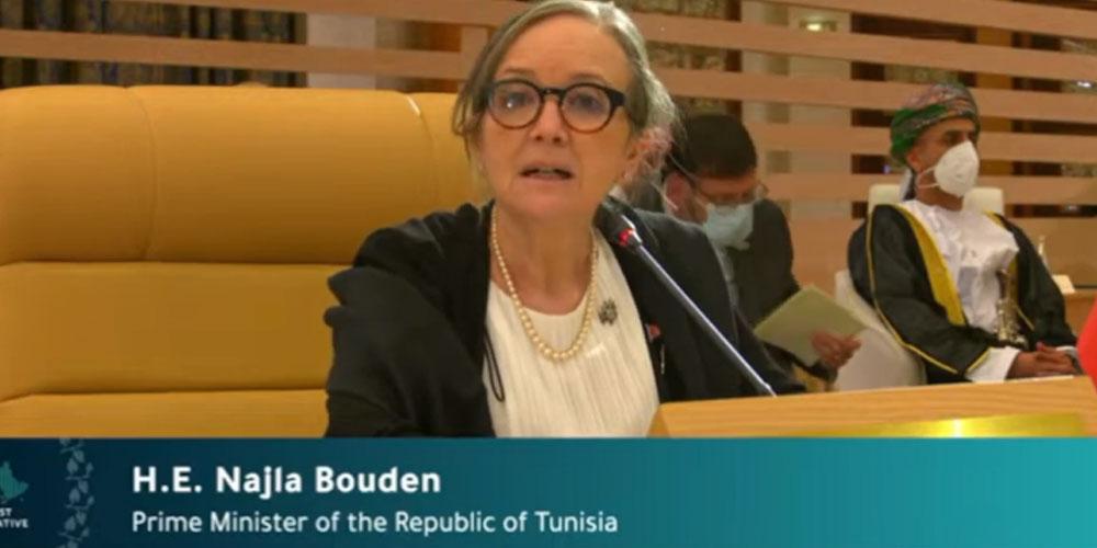 بالفيديو: كلمة رئيسة الحكومة التونسية في قمة الشوط الأوسط الأخضر المقامة في السعودية