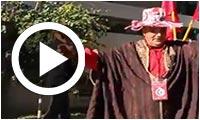 'Ya sayed Lasyed ya Hbibi Bourguiba' devant la conférence de Béji Caid Essebsi