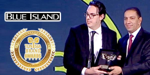 BLUE ISLAND remporte un Tunisia Brand Award 2017