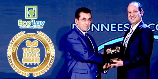 ECOLAV remporte un Tunisia Brand Award 2017
