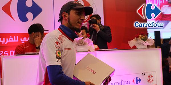 Interview de M. Arbi Hammami gagnant du jeu Carrefour