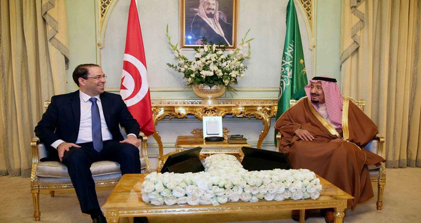 بالفيديو.. لقاء الشاهد مع العاهل السعودي الملك سلمان