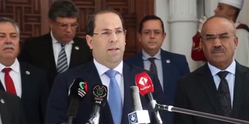 بالفيديو: كيف كانت زيارة رئيس الحكومة يوسف الشاهد إلى الجزائر