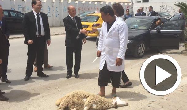 En vidéo : L'accueil de Youssef Chahed à La Manouba crée une vive polémique parmi les internautes