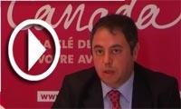 M. Chamseddine Ouerdiane, lancement officiel de l'école canadienne de Tunis
