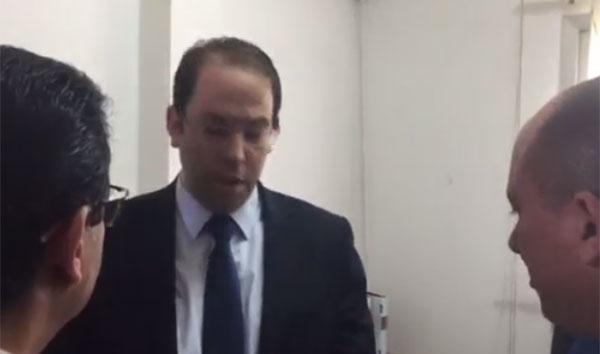 عاجل: بالفيديو الشاهد في زيارة فجئية لميناء رادس ...