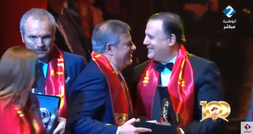 بالفيديو إحتفالية مائوية الترجي الرياضي التونسي