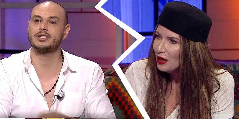 بالفيديو، تلاسن بين مريم بن مامي و أمير الدريدي