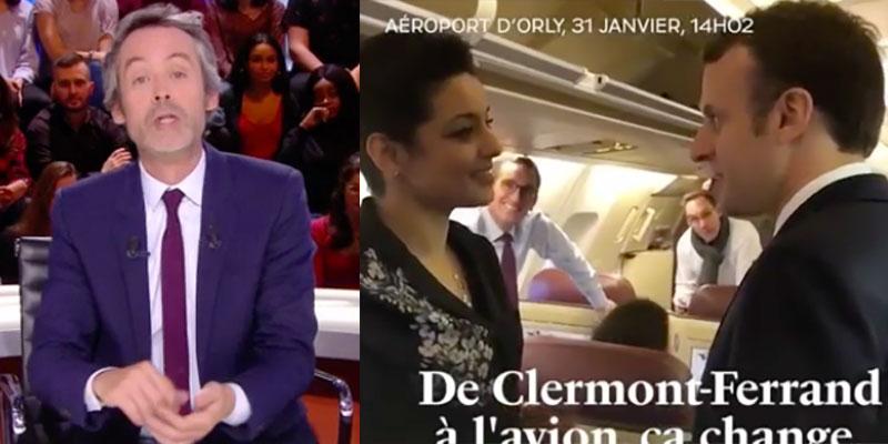 L'invitée surprise d'Emmanuel Macron pour son voyage selon Yann Barthès