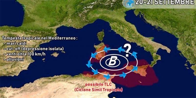 بالفيديو، ما حقيقة الاعصار بتونس؟ المعهد الوطني للرصد الجوي يوضح