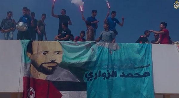 بالفيديو : طائرات الزواري تزين ''دخلة الباك سبور '' في تونس