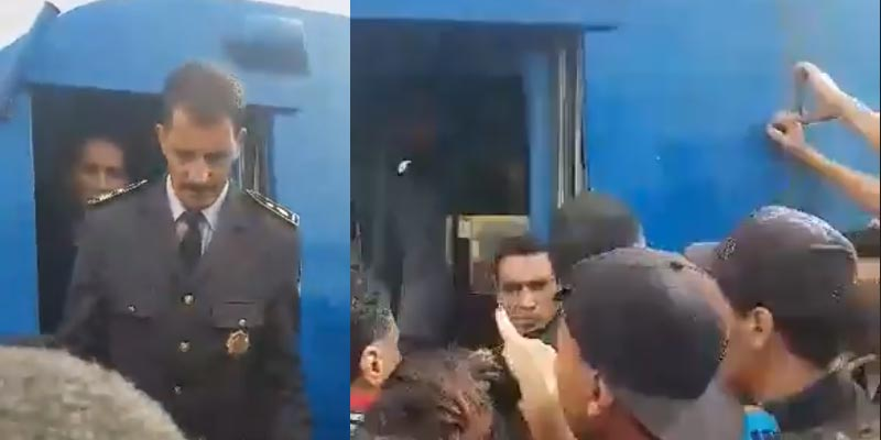 بالفيديو: ''ديقاج'' في وجه أعوان السكك الحديدية بعد اضرابهم عن العمل صباح اليوم