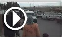بالفيديو تشيع جثمان الشهيد عبد الوهاب نصير من المستشفي الجهوي بالقصرين في اتجاه ولايته