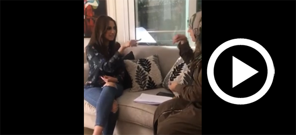 En vidéo : Dorra Zarrouk en répétition pour la campagne de sensibilisation ''Pick A Street''