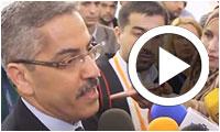 Chafik Sarsar donne l'état d'avancement du dépouillement