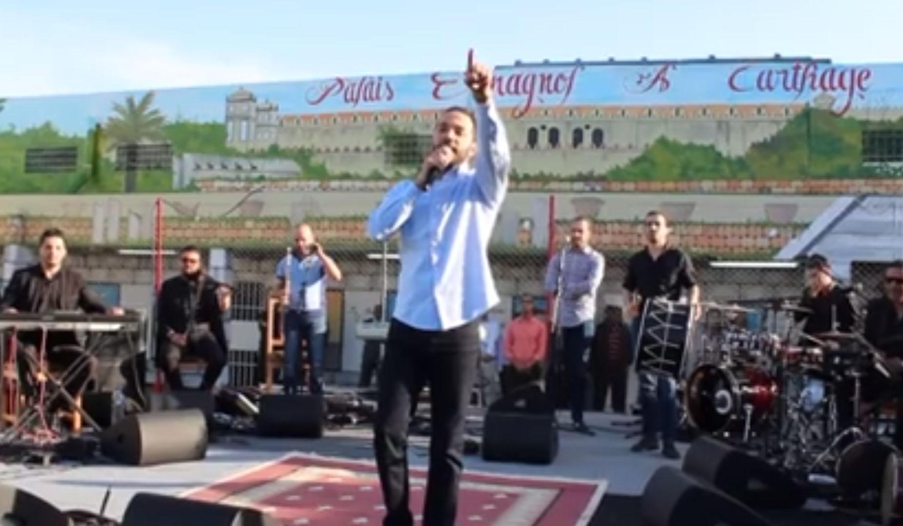 بالفيديو: حسين الديك في سجن المرناقية !!!