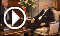بالفيديو : الباجي القائد السبسي يلتقي لجنة العفو الرئاسي