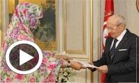 بالفيديو : رئيس الجمهورية يلتقي بالمبعوثة الخاصة للرئيس الموريتاني