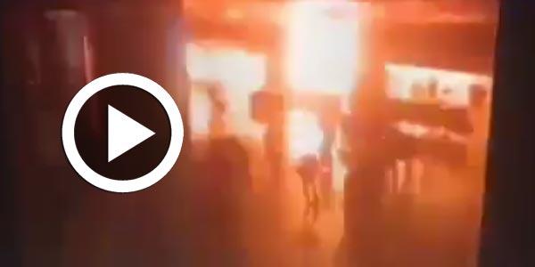 Vidéo de l'explosion dans l'aéroport Ataturk d'Istanbul