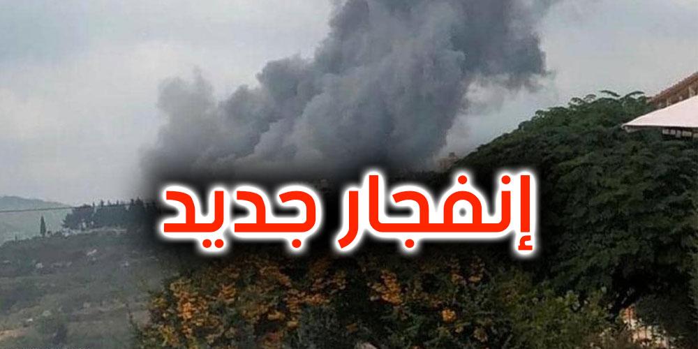فيديو: إنفجار جديد يهز جنوب لبنان