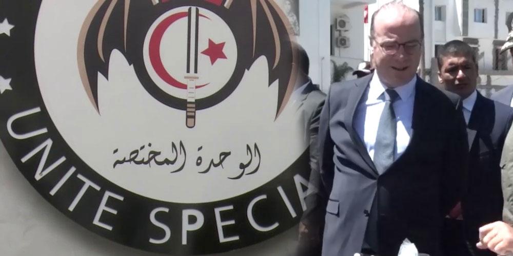 فيديو : رئيس الحكومة إلياس الفخفاخ في مقر الوحدة المختصة للحرس الوطني