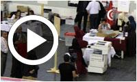 En vidéo : Coulisses du centre de dépouillement des votes à Ben Arous