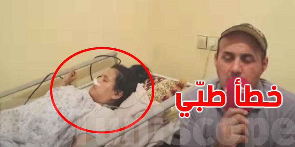 بالفيديو: إمرأة تتحوّل من فرحة الولادة الى صدمة الإعاقة والسبب خطأ طبّي