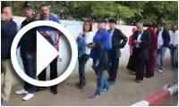 En vidéo : La très très très longue file à l'école Soukra El Barid