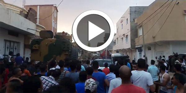 بالفيديو : إستشهاد طفل يبلغ من العمر16 سنة اثر استهداف مواطنين من قبل ارهابيين في القصرين