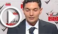 En Vidéo : Le représentant du parti El-Ghad saisi par le trac