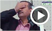 فيديو : تشنج الحوار مع الهاشمي الحامدي على إذاعة صبرة