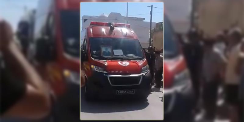 بالفيديو : وصول جثمان الشهيد حمزة الدلالي إلى منزله