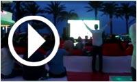 Ambiance de la Heineken Champions League Ibiza Final 2014