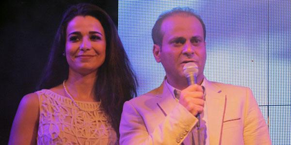 Makki Helal et Sonia Younsi au Tunisia Shopping Festival