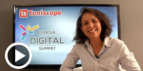 En vidéo : Mme Hosni Krid Gargouri nous parle de l'évènement Tunisia Digital Summit