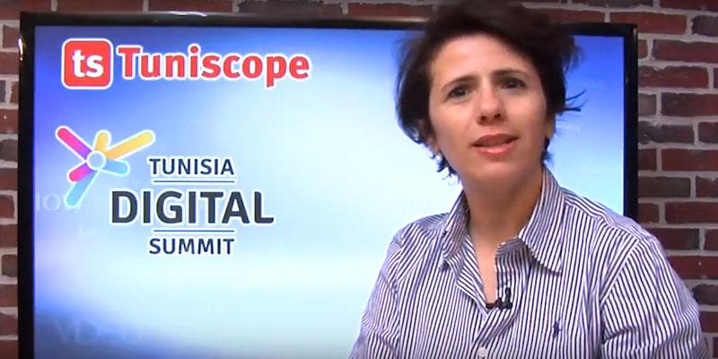 En vidéo : Mme Imen AYARI parle de sa participation au salon Tunisia Digital Summit