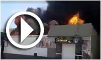 بالفيديو: حريق في مخزن للمحروقات بقابس يسفرعن وفاة 3 اشخاص