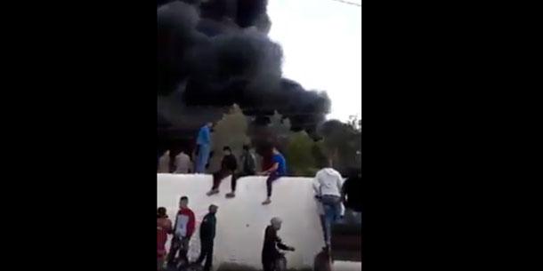 En vidéo : Incendie dans l'usine de tabac de Kairouan