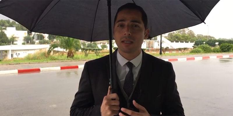 بالفيديو، الوضع الجوي دقيق والأمطار تغرق أحياء وشوراع تونس الكبرى