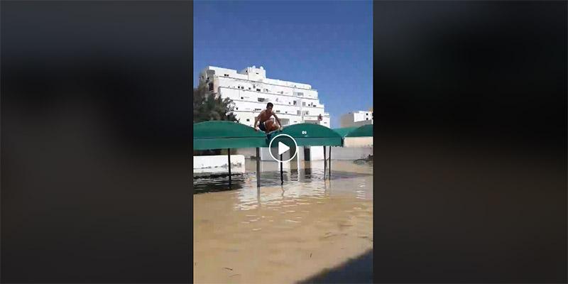 Vidéo: La moitié pleine… des inondations