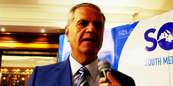 جون جاك صراف، رئيس الاتحاد المتوسطي لمنظمات الاعراف