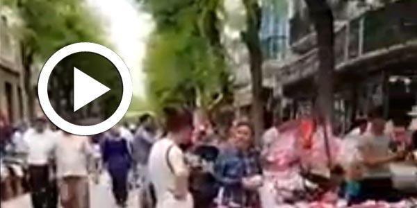 La rue Jamel Abdennasser envahie par les étals anarchiques