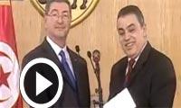 En vidéo : Cérémonie de passation de pouvoir entre le gouvernement de Mehdi Jomaa et celui de Habib Essid