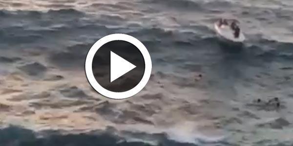 En vidéo : Opération de sauvetage à la plage de Jwebi, Cap Zebib