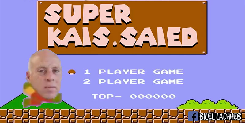 En vidéo : Super Kais Saied, les présidentielles en jeu vidéo